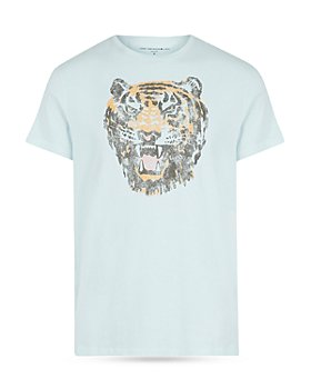 John Varvatos Star USA - Tiger Head Graphic Tee