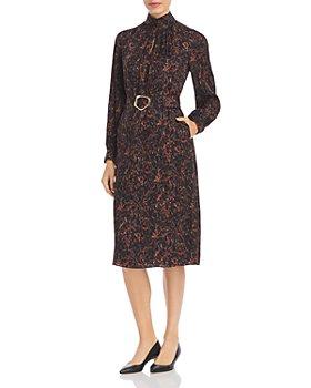 Lafayette 148 New York - Giana Marble Print Jacquard Dress
