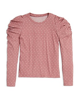 AQUA - Girls' Puff Sleeve Top - Big Kid - 100% Exclusive
