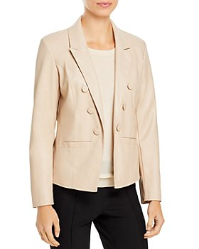 T Tahari - Faux Leather Jacket