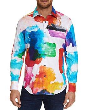 Robert Graham - Work of Genius Abstract Print Classic Fit Shirt