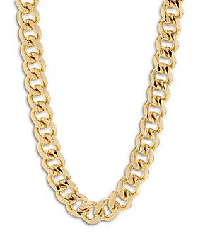 """Luv Aj - Seraphina Bold Chain Necklace, 16"""""""