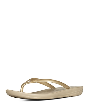 Fitflop FITFLOP WOMEN'S IQUSHION SNAKE EMBOSSED SANDALS