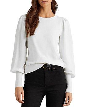 Ralph Lauren - Puffed Sleeve Sweater
