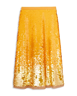 Tory Burch Sequin Embellished Skirt-Women
