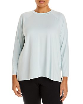 Eileen Fisher Plus - Raglan Crew Top