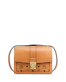 MCM - Tracy Visetos Medium Shoulder Bag