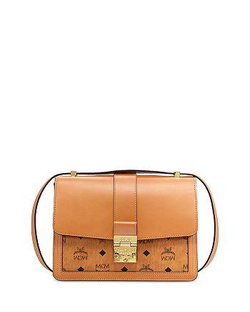 MCM - Tracy Visetos Medium Shoulder Bag