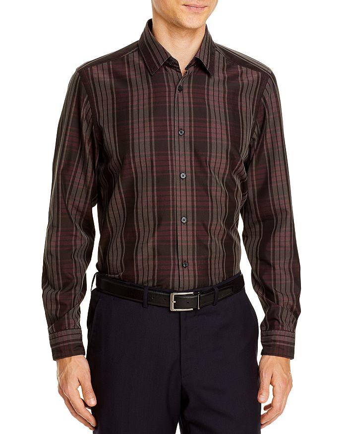 BOSS - Lukas Plaid Regular Fit Button-Down Shirt