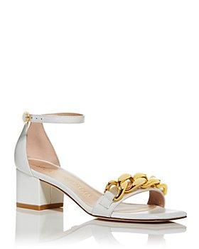 Stuart Weitzman - Women's Amelina Block Heel Sandals
