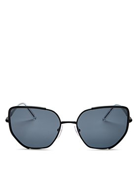 Prada - Women's Polarized Square Sunglasses, 58mm