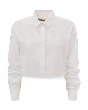 Andamane - Georgina Cotton Cropped Shirt