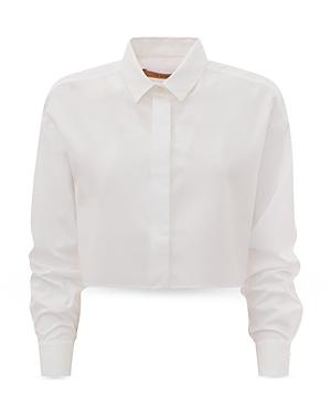 Georgina Cotton Cropped Shirt