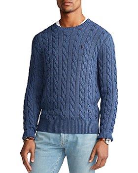 Polo Ralph Lauren - Cable-Knit Cotton Crewneck Sweater