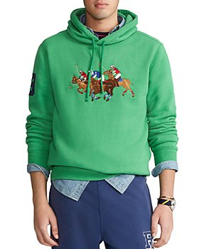 Polo Ralph Lauren - Triple-Pony Fleece Hoodie Sweatshirt