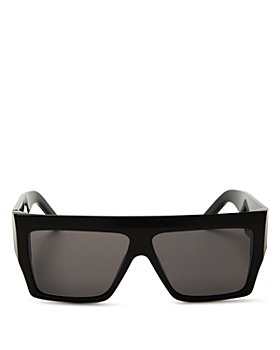 CELINE - Unisex Flat Top Square Sunglasses, 57mm