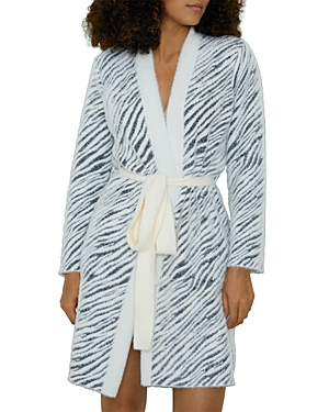 Snow Zebra Robe