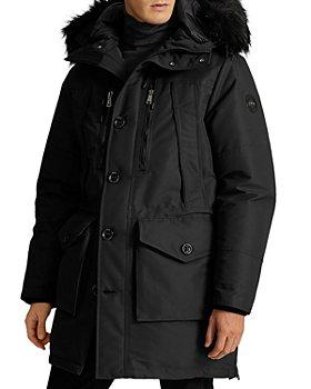 Polo Ralph Lauren - RLX Alistair Faux Fur Trim Parka