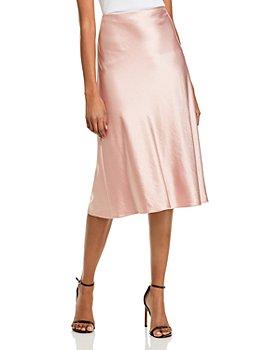 MILLY - Fion Bias Cut Slip Skirt