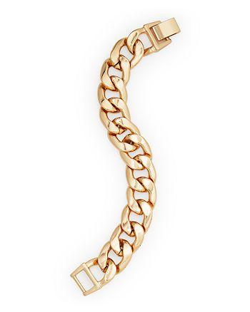 AQUA - Thick Gold-Tone Chain Bracelet - 100% Exclusive
