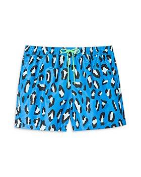 PS Paul Smith - Leopard Print Swim Trunks
