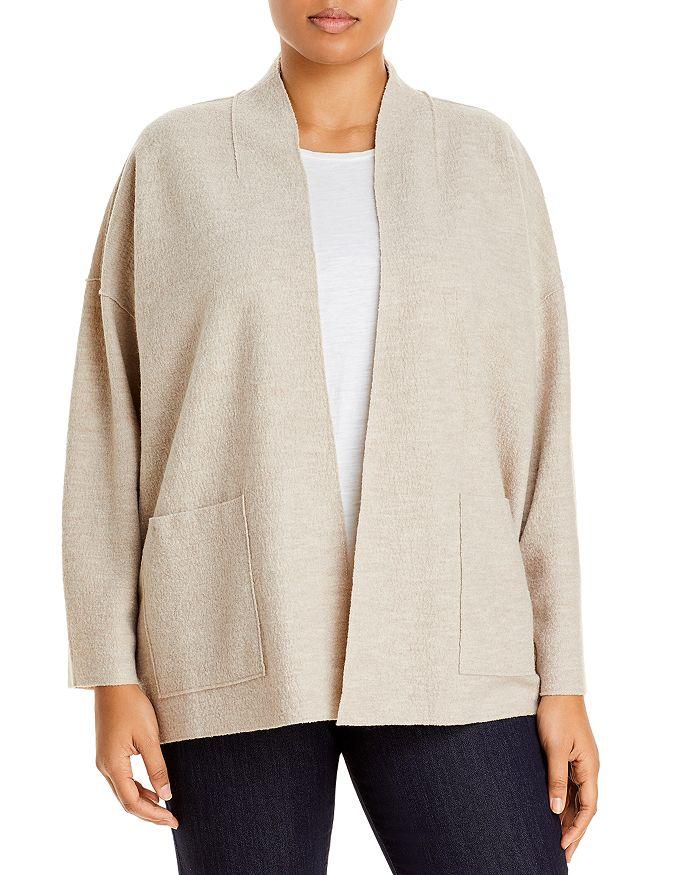 Eileen Fisher Plus - Wool Jacket