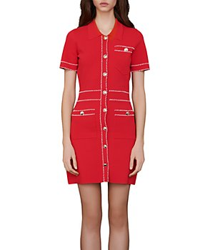 Maje - Ross Knit Shirt Dress