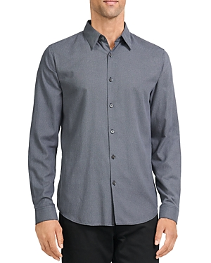 Theory Irving Micro Print Regular Fit Sport Shirt