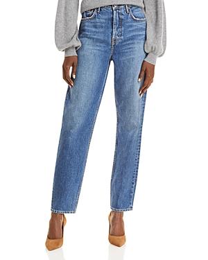 Devon High Rise Straight Leg Jeans in Far From Me