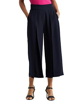 Ralph Lauren - Cropped Wide Leg Pants