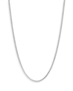 JOHN HARDY - Sterling Silver Classic Curb Thin Chain Necklace, 22""