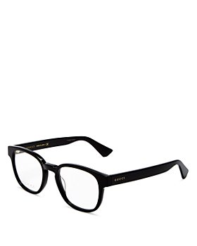 Gucci - Men's Round Clear Glasses, 49mm