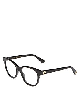 Gucci - Women's Square Clear Glasses, 51mm