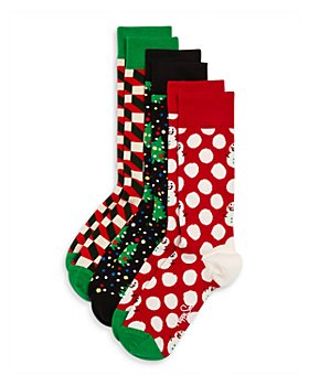Happy Socks - 3-Pack Holiday Gift Set - 100% Exclusive