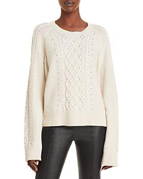 Jason Wu - Studded Cable Knit Sweater