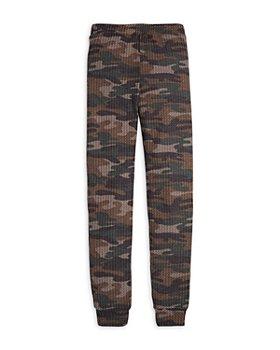 AQUA - Girls' Waffle Knit Jogger Pants, Big Kid - 100% Exclusive