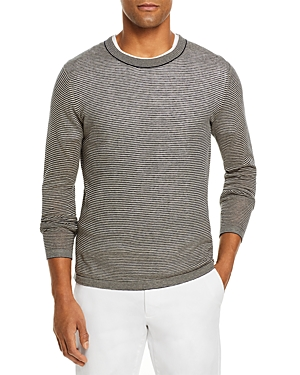 The Men's Store at Bloomingdale's Linen Cotton Crewneck Sweater - 100% Exclusive