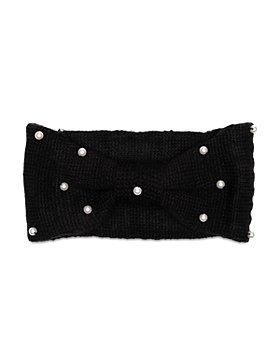 Eugenia Kim - Rosalind Faux Pearl Studded Knit Turban