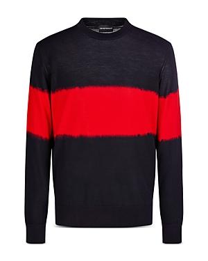 Two Tone Wool Sweater