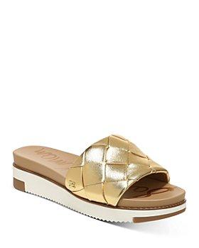 Sam Edelman - Women's Adaley Woven Platform Slide Sandals