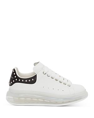 Alexander McQUEEN Women's Oversized Studded Leather Heel & Transparent Sole Sneakers