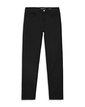The Kooples - Tapered Slim Jeans in Black