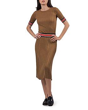 ATM Anthony Thomas Melillo - Striped Top & Midi Skirt