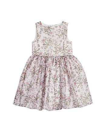 Pippa & Julie - Girls' Ditsy Opaque Floral Dress - Little Kid
