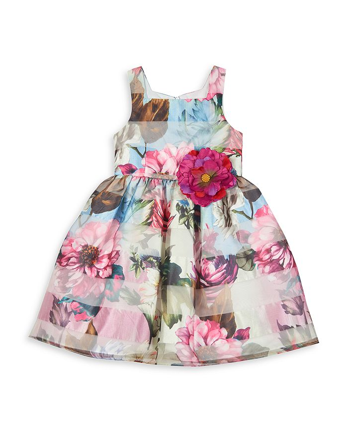 PIPPA & JULIE Dresses GIRLS' FLORAL BUTTERFLY DRESS - BIG KID