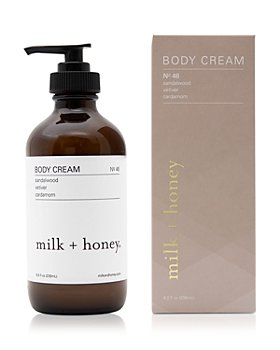 milk + honey - Body Cream No. 46 8 oz.
