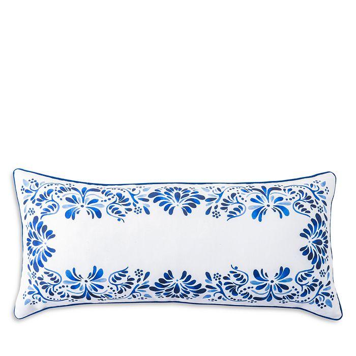 Juliska Pillows IBERIAN JOURNEY INDIGO DECORATIVE PILLOW, 12 X 27
