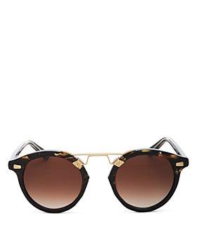 Krewe - Unisex St. Louis II Round Sunglasses, 48mm