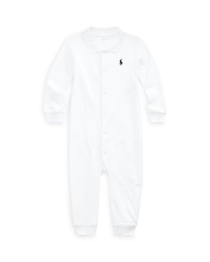 Ralph Lauren - Boys' Interlock Solid Coverall - Baby