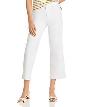 PAIGE - Nellie Cropped Jeans in Crisp White